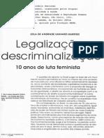 LEGALIZAÇAO E DESCRIMINALIZAÇAO.PDF