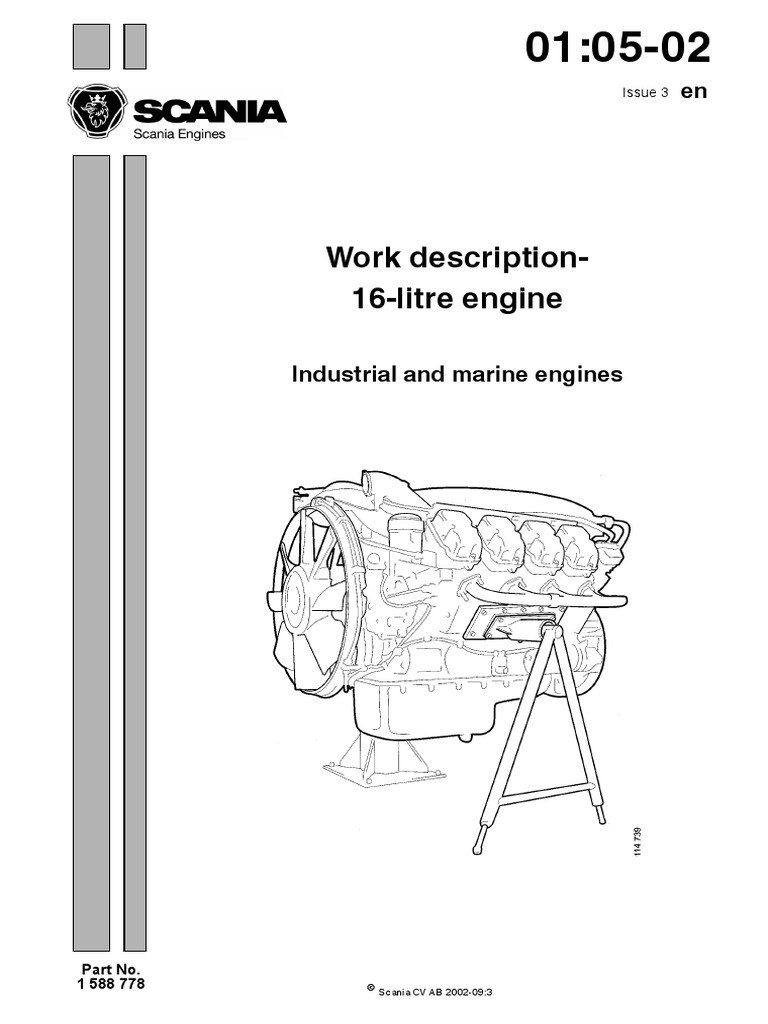 scania dc 16 workshop manual turbocharger screw rh scribd com Scania 113 Scale Model 1990 Scania 113 310
