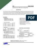 DRAM K4F640412C