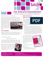 SALVO Newsletter Oct 2014