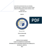 Proposal Skripsi ANALISIS PENGARUH KURS DOLLAR (USD/IDR), DOW JONES INDUSTRIAL AVERAGE (IDJA) DAN STRAITS TIMES INDEX (STI) TERHADAP PERGERAKAN IHSG DI BURSA EFEK INDONESIA PERIODE 2010-2014
