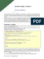 JSP - Lezione 4 - Gli Oggetti Impliciti