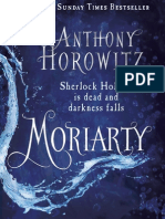 Moriarty by Anthony Horowitz Extract