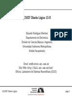 Notas Diseño logico UAM Azcapotzalco