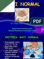ANAK 1 Bayi Normal