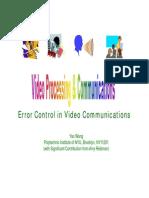Error Control New
