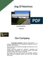 Catalog of Machines- Occasion Machines - 2014 2015.pdf