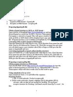 procedure for docking