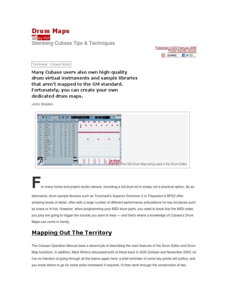 Drum Maps docx | Drum Kit | Musical Instruments