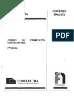 599-73 Codigo de Protección contra rayos.pdf