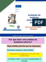 Avaliação do Ambiente Externo de uma Empresa.ppt