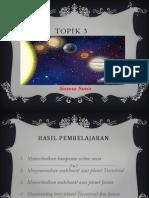 TOPIK 3 Sistem Solar