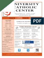 UCC Bulletin 10-26-2014