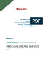 Plagiarism Presentation