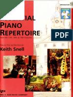 Essential Piano Repertoire Preparatory Level