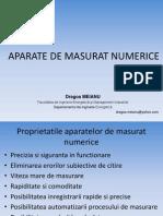 Aparate de Masurat Numerice