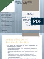 Análisis crítico y estructurado de documentos científicos.pptx