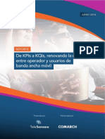 KPIs and KQIs Reporte-Comarch