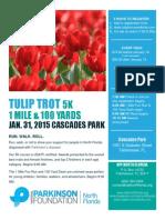 Tulip Trot 5k Flyer