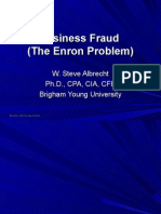 Business Fraud the Enron Problem