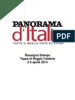La rassegna stampa di Panorama d'Italia a Reggio Calabria