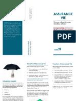 Assurance Vie Brochure