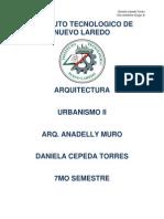 Urbanismo II - Desarrollo de la materia