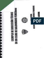 Estructura técnica de un club de base femenino. GERARD LASIERRA.PDF