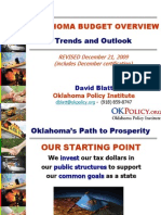 Oklahoma Budget Trends and Outlook (December 2009)
