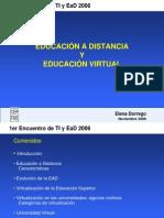 EDUCACIÓN A DISTANCIA  Y EDUCACIÓN VIRTUAL.ppt