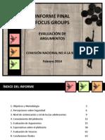 FOCUS analisis no a la baja.pdf
