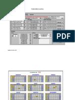 Calendário Escolar - TIC - AFC