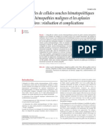 Allogreffes de cellules souches hématopoïétiques dans les hé.pdf