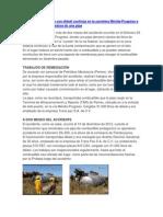 Fuerte contaminación con diésel continúa en la carretera Mérida.docx