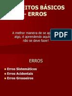 CONCEITOS BÁSICOS - ERROS.ppt