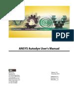 ANSYS Autodyn Users Manual