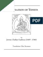 Tenets Chokyi Gyaltsen Transl Glen Svensson-edFeb062