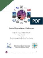Guia de Observacion Del Galileoscopio v1.31 ES