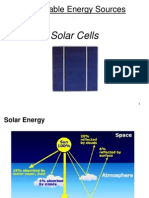 Lecture Solar Cells