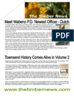 The Timber News -- July/Aug 2009
