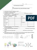 biology test review sleem