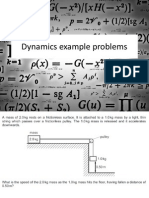 Dynamics Example Problems
