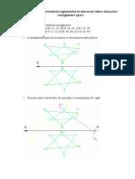 Intersectia a Doua Placi Triunghiulare Opace