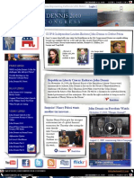 JD for Congress Newsletter Issue 1