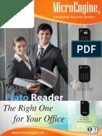 Microengine Single Door Access Control System Platoreader