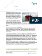 12-10 Limitations of Vessels Anchoring Equipment