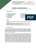 P3. Técnicas de separación 2 Destilación Simple.pdf