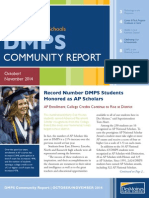 DMPS Community Report - October/November 2014
