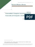 Soley-Beltrán , Patrícia. Transexualidad y Transgénero