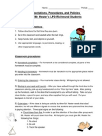 Classroom Procedures Plan.doc